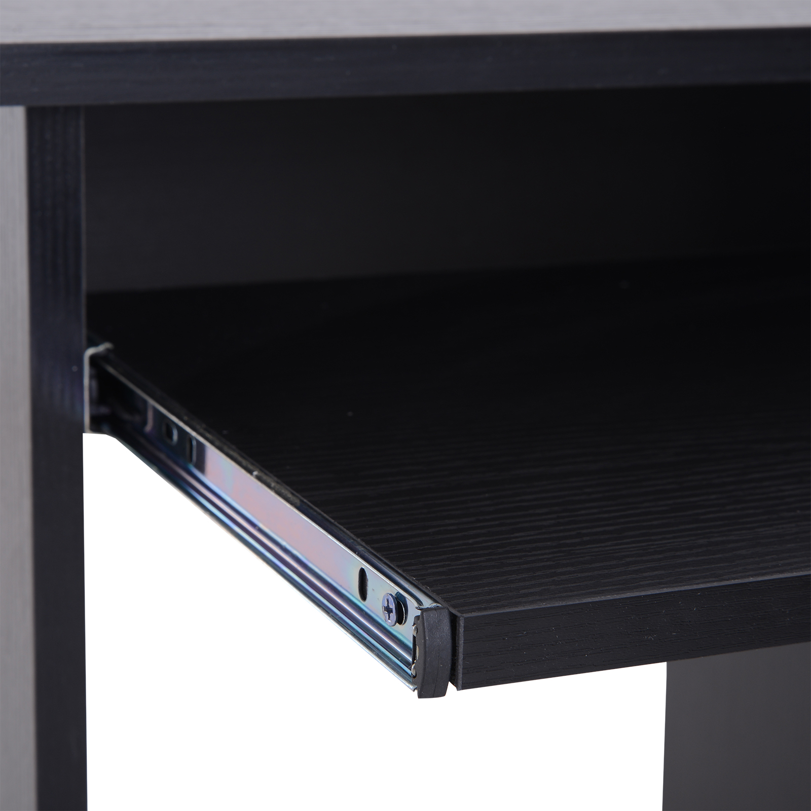 Indexbild 18 - HOMCOM Computertisch Schreibtisch Bürotisch Gamingtisch PC-Tisch Weiß/Schwarz