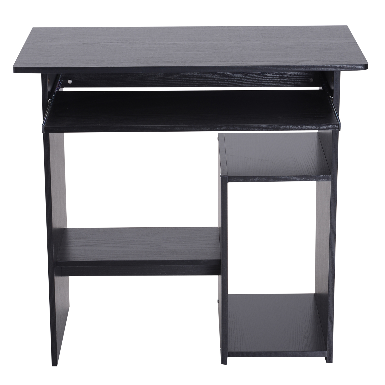 Indexbild 15 - HOMCOM Computertisch Schreibtisch Bürotisch Gamingtisch PC-Tisch Weiß/Schwarz