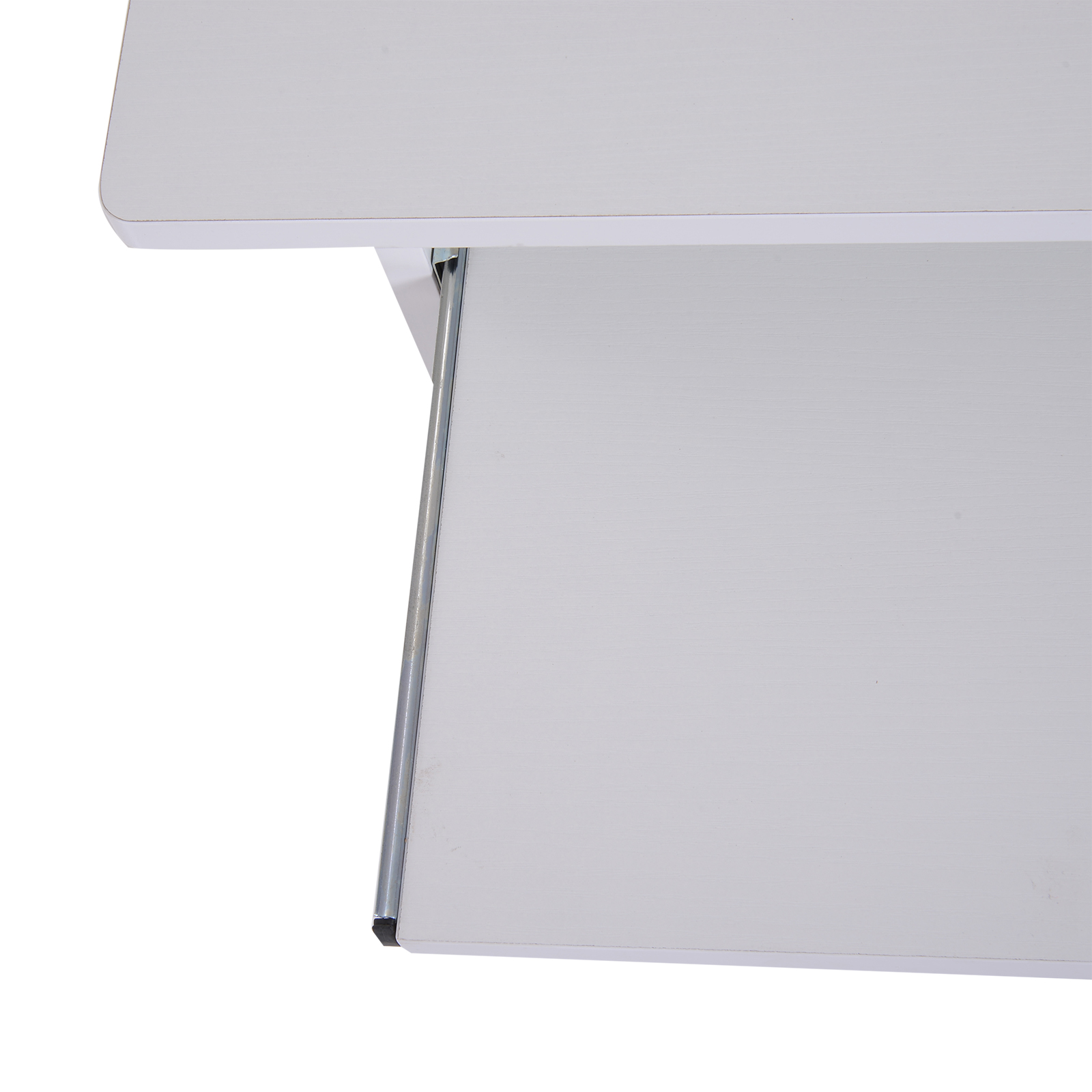 Indexbild 27 - HOMCOM Computertisch Schreibtisch Bürotisch Gamingtisch PC-Tisch Weiß/Schwarz