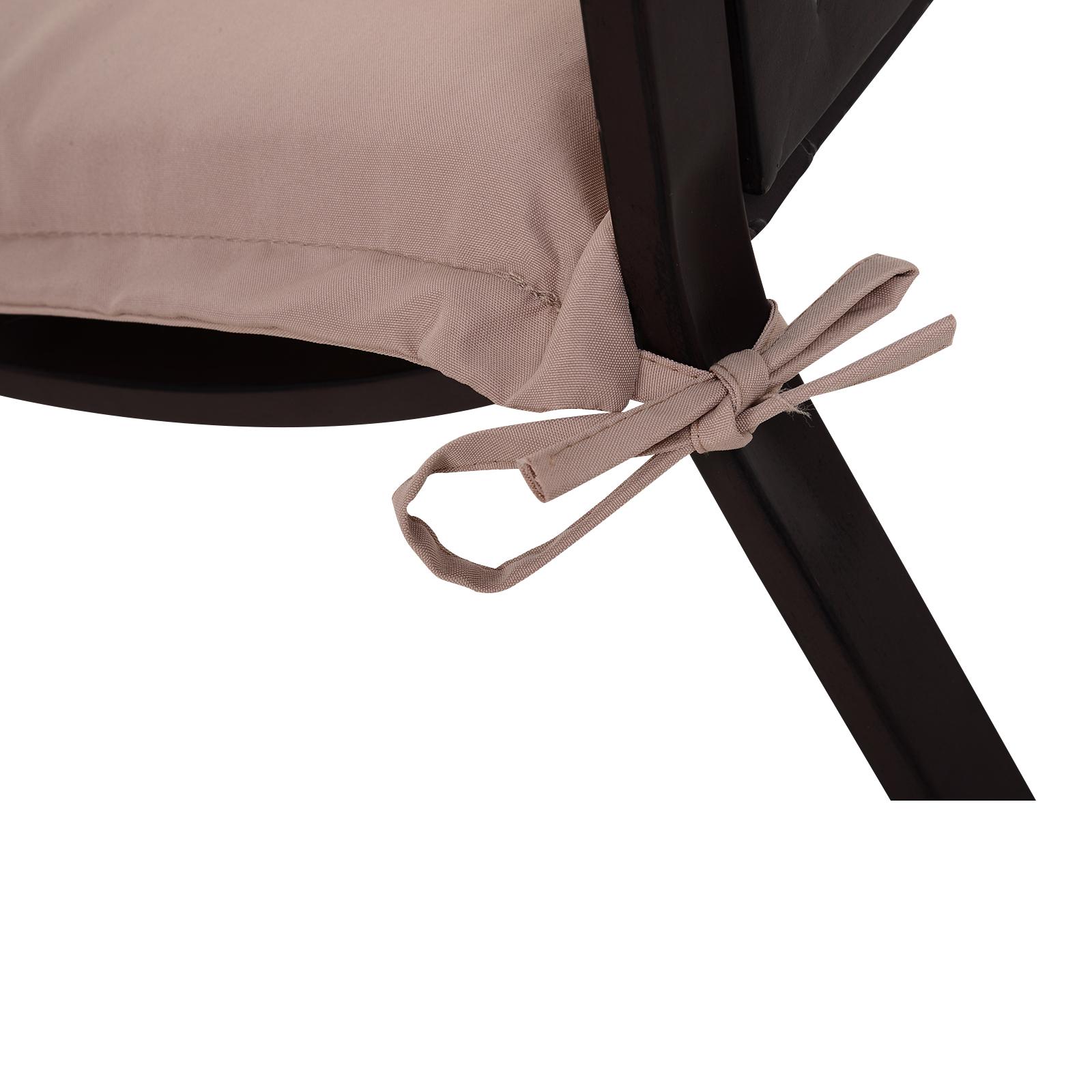 Indexbild 16 - Outsunny Bankauflage 2er Set Bankkissen Sitzkissen Polster Polyester