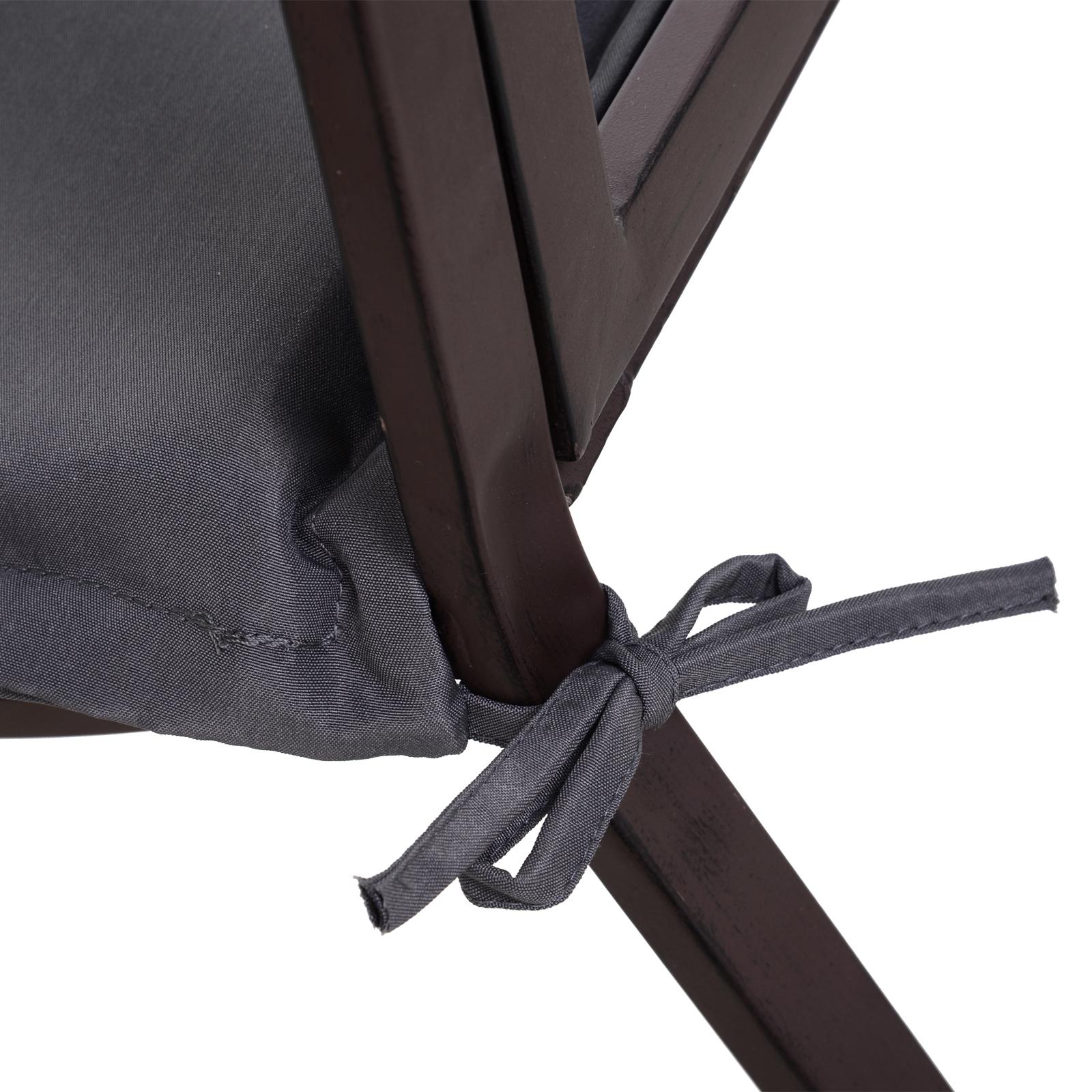 Indexbild 27 - Outsunny Bankauflage 2er Set Bankkissen Sitzkissen Polster Polyester