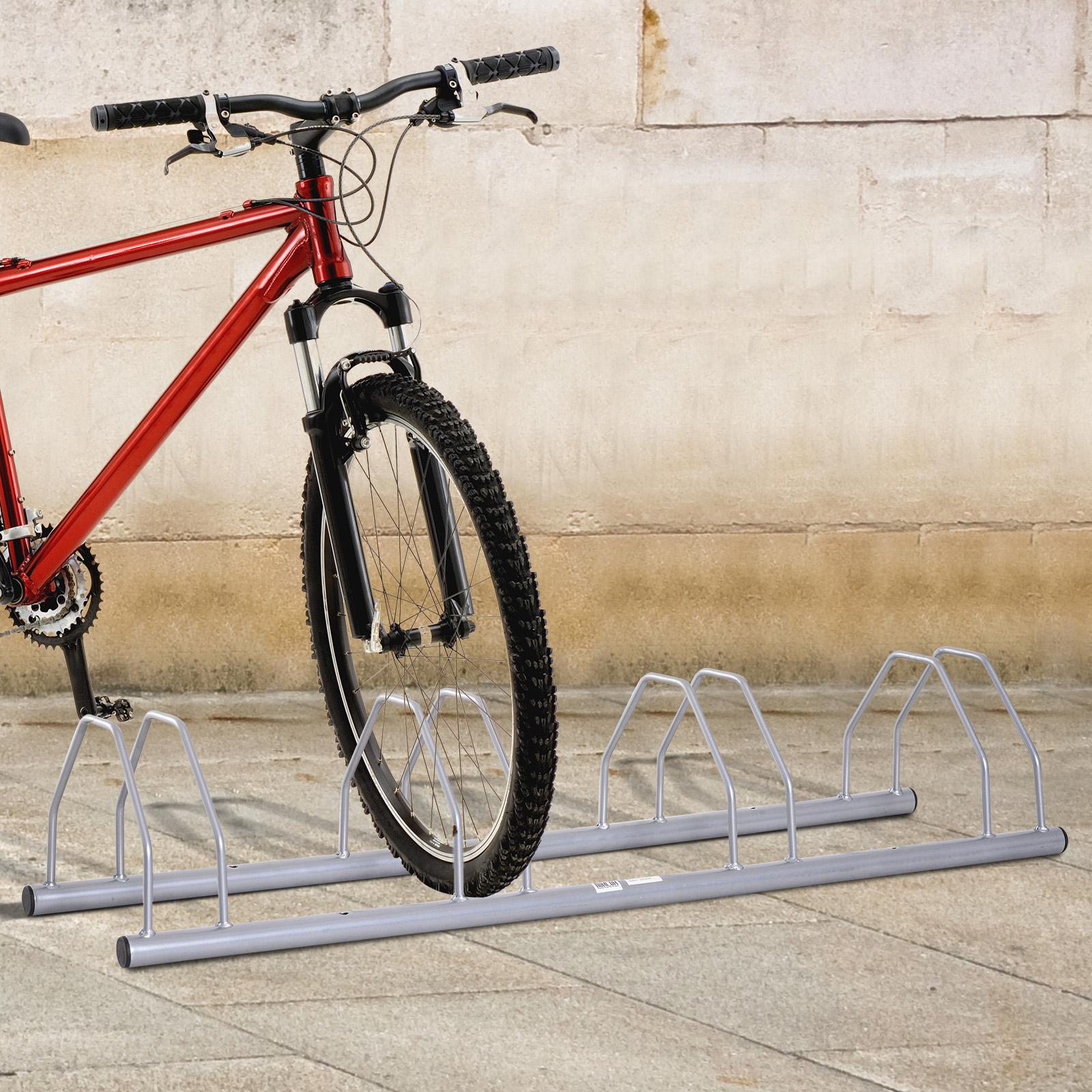 Fahrradständer Mehrfachständer Bodenständer Aufstellständer Fahrradparker 3Räder