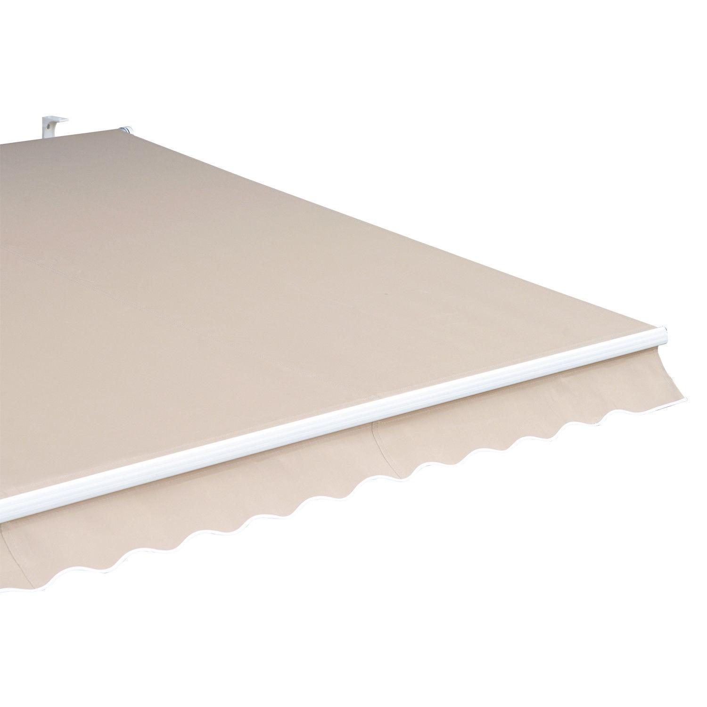 Alu-Markise-Markise-Aluminium-Gelenkarm-Sonnenschutz-5-Farben-4-Groessen-waehlbar Indexbild 15