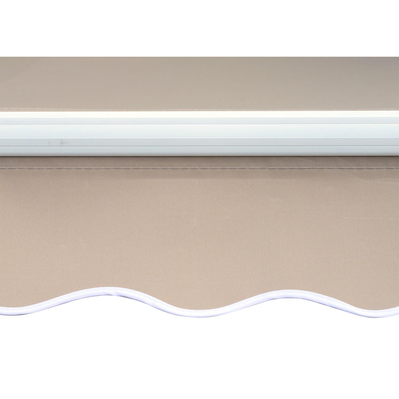 Alu-Markise-Markise-Aluminium-Gelenkarm-Sonnenschutz-5-Farben-4-Groessen-waehlbar Indexbild 13