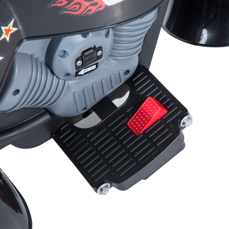 HOMCOM Mini Moto Elettrica per Bambini Batteria 6V 3 Ruote ...