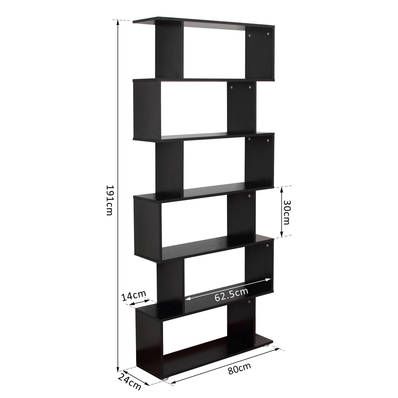 HOMCOM - Libreria di Design Mobili Ufficio Scaffale in ...