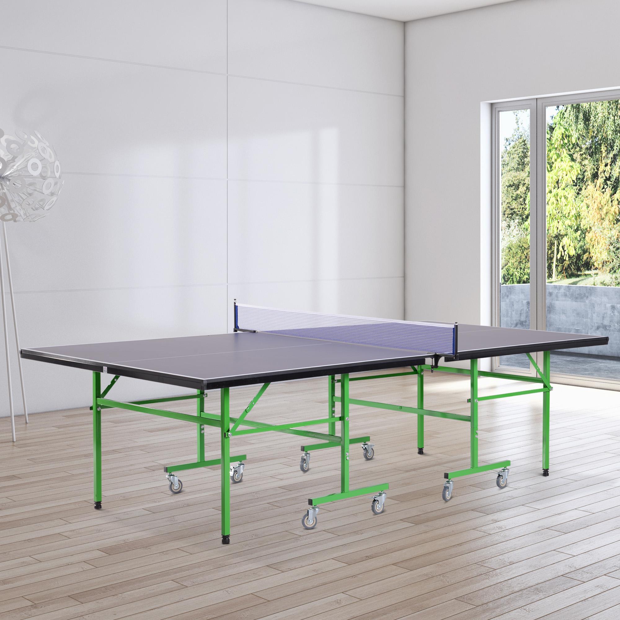 HOMCOM Tavolo da Ping Pong Professionale Interno Esterno ...
