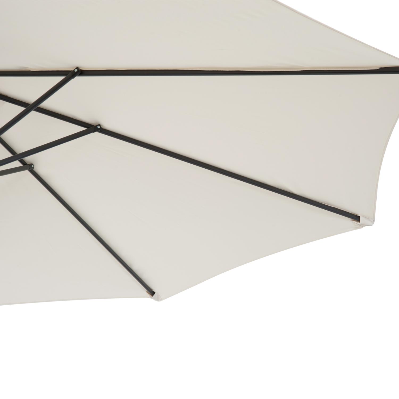 Outsunny-10-039-Deluxe-Patio-Umbrella-Outdoor-Market-Parasol-Banana-Hanging-Offset thumbnail 11