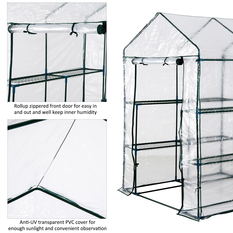 Portable-Walk-in-Greenhouse-Garden-Flower-Plant-Growing-Warm-House-3-Size
