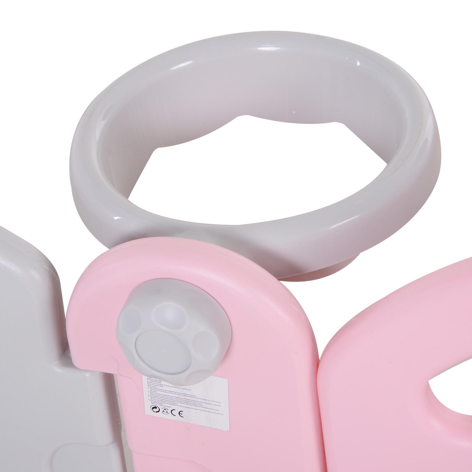 Qaba-14-Pcs-Safety-Children-Playpen-Pink-Game-Panel-Anti-Pushing-Over thumbnail 23