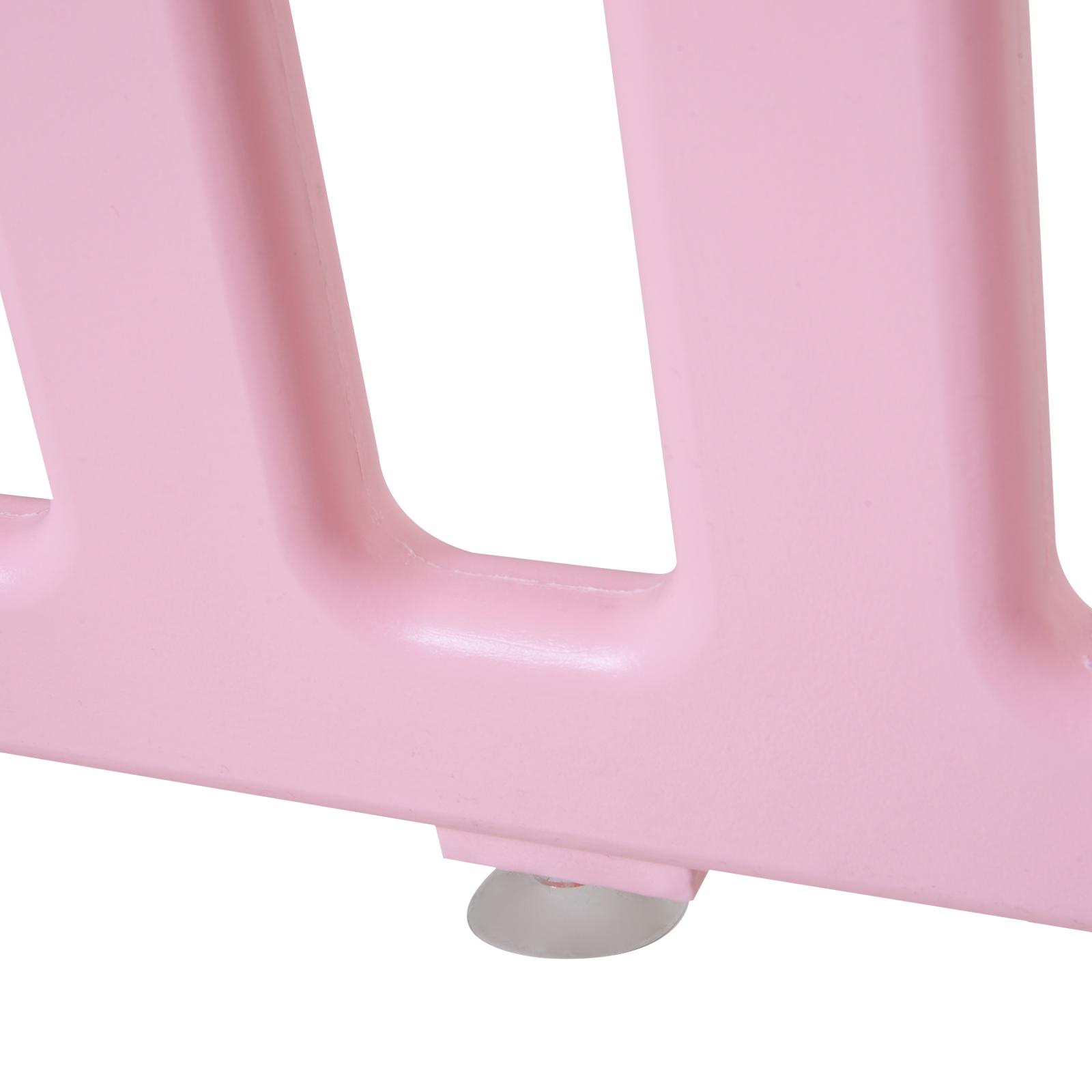 Qaba-14-Pcs-Safety-Children-Playpen-Pink-Game-Panel-Anti-Pushing-Over thumbnail 24