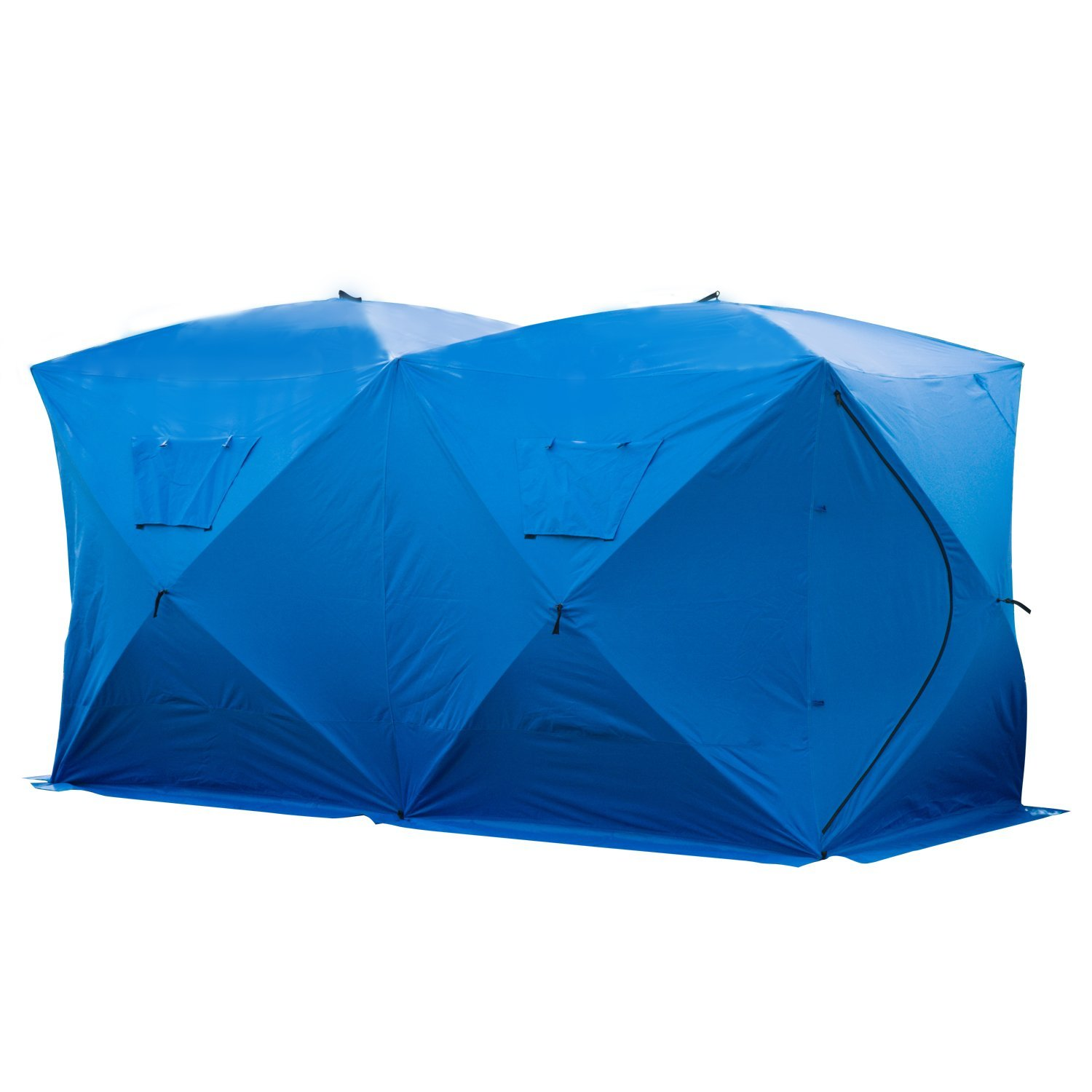 Pop Up Ice Shelter Insulated Ice Fishing Tent Outdoor
