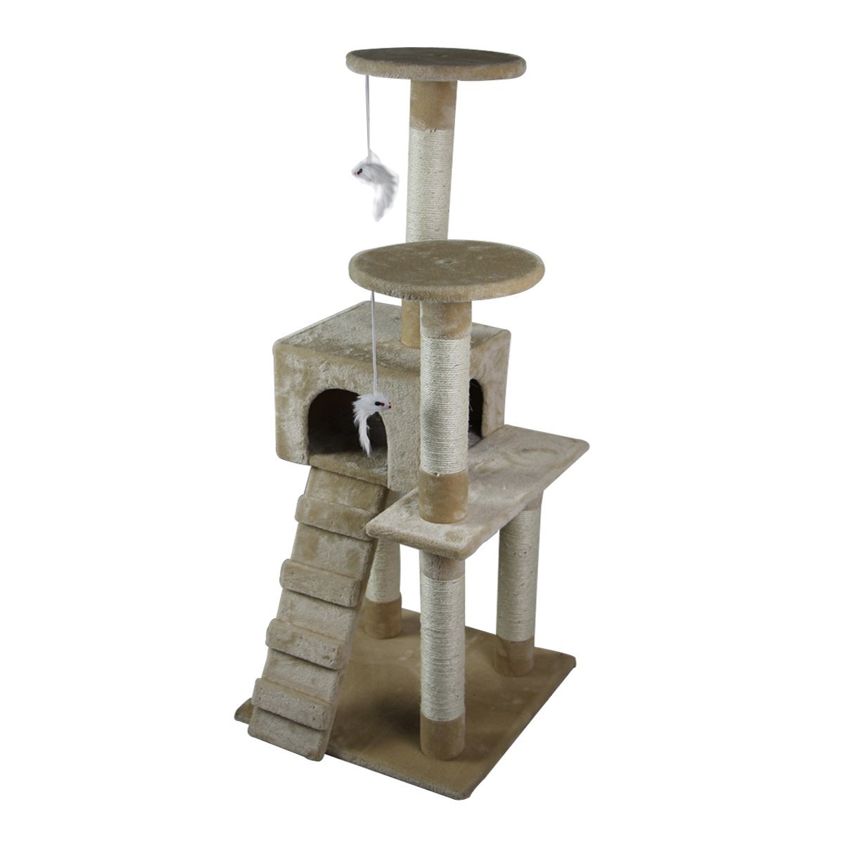 52-039-039-Cat-Tree-Multi-Level-Tower-Kitten-Condo-House-Activity-Center-Pet-Furniture thumbnail 5
