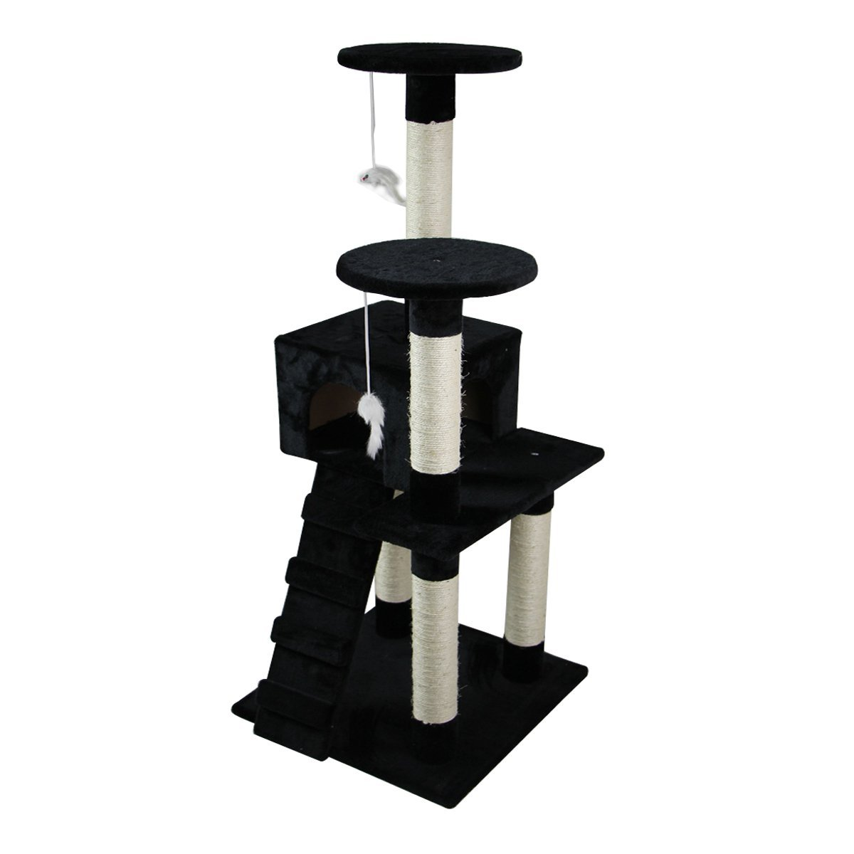 52-039-039-Cat-Tree-Multi-Level-Tower-Kitten-Condo-House-Activity-Center-Pet-Furniture thumbnail 9