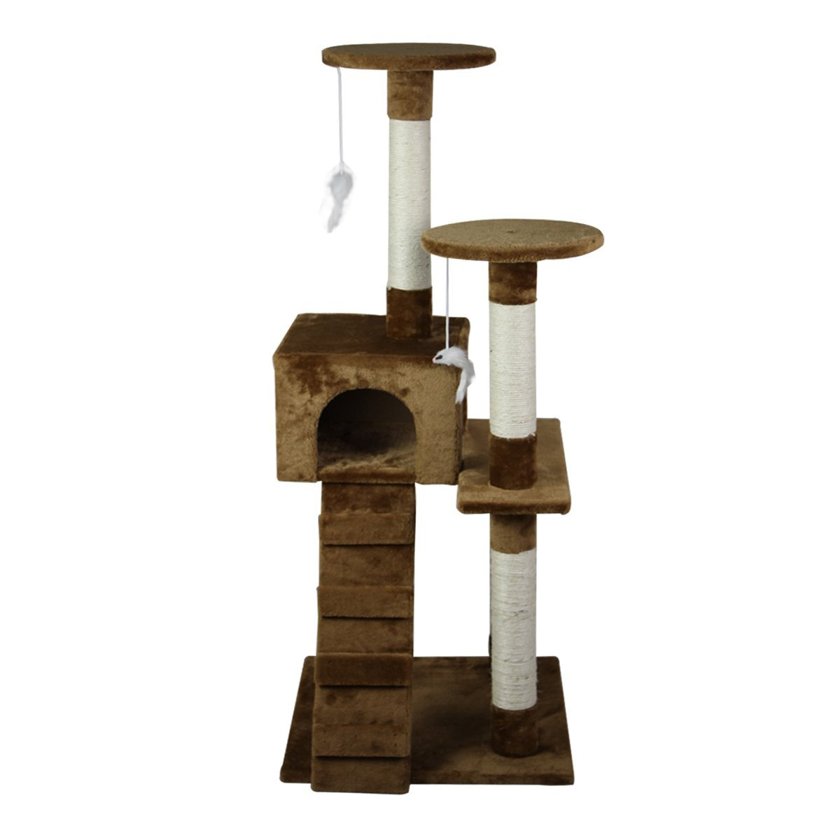 52-039-039-Cat-Tree-Multi-Level-Tower-Kitten-Condo-House-Activity-Center-Pet-Furniture thumbnail 13