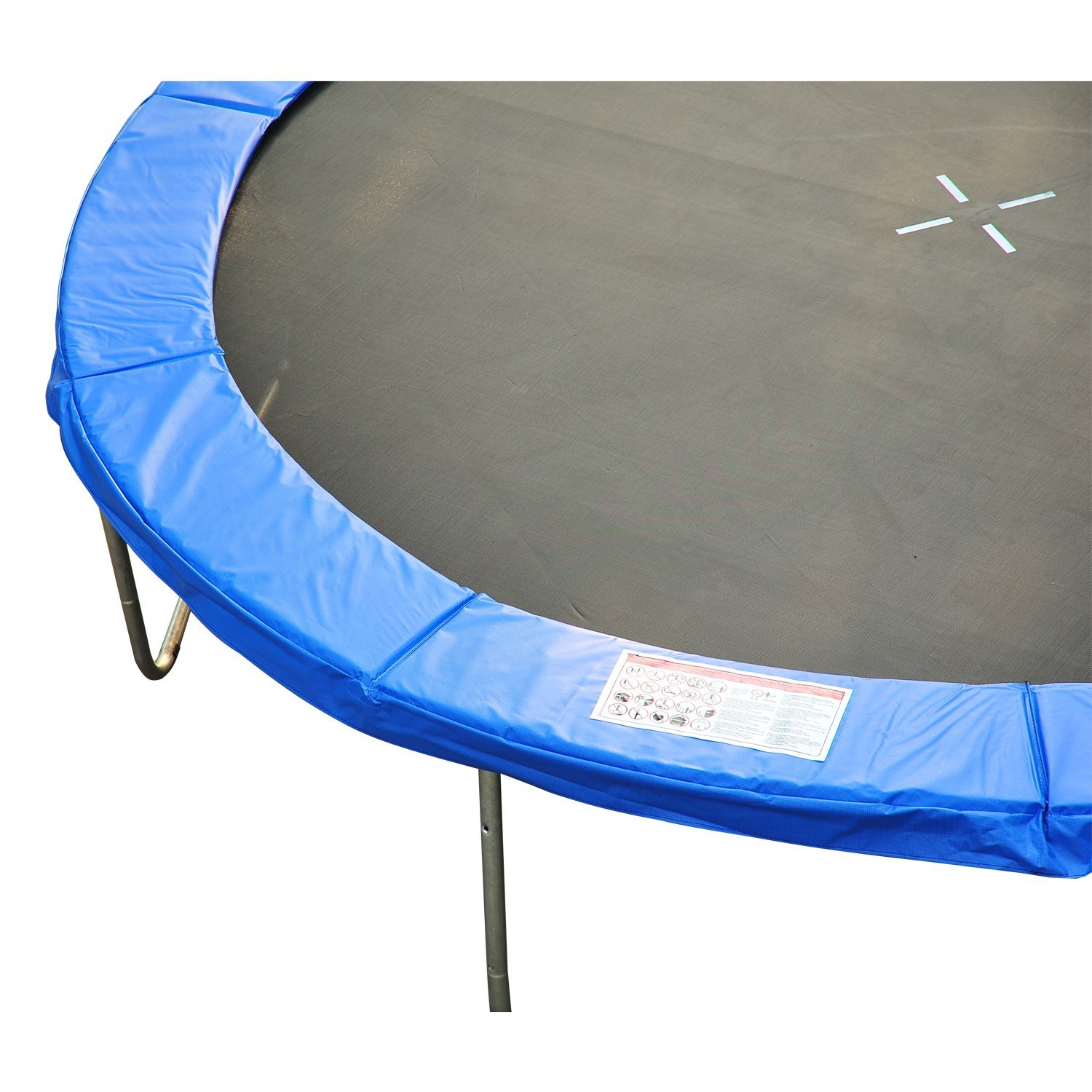 8ft-Trampoline-Pad-Spring-Safety-Replacement-Gym-Bounce-Jump-Cover-EPE-Foam thumbnail 4