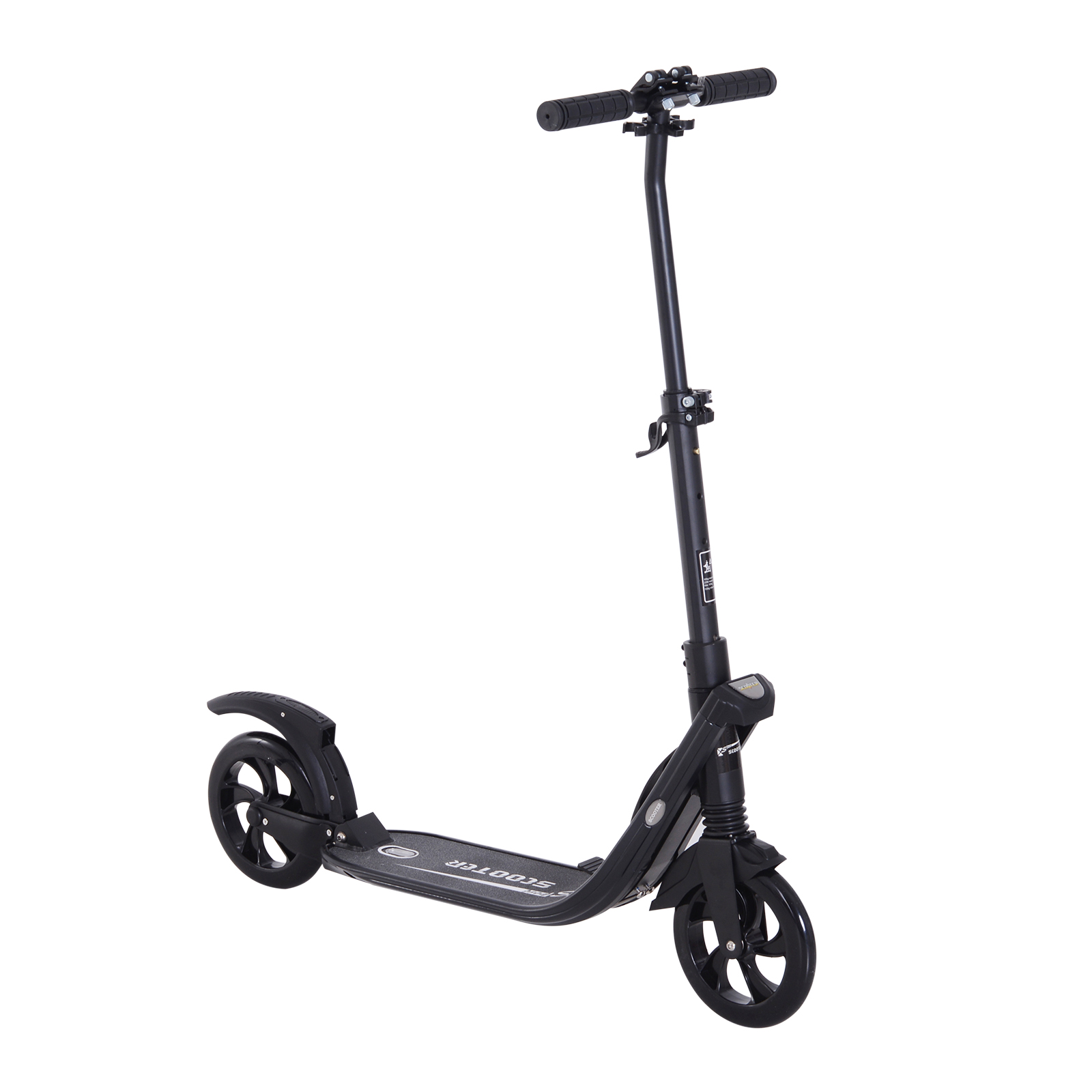 Teens-Adult-Folding-Electric-Scooter-Teenager-Rider-With-Brakes-and-Kickstand miniature 18