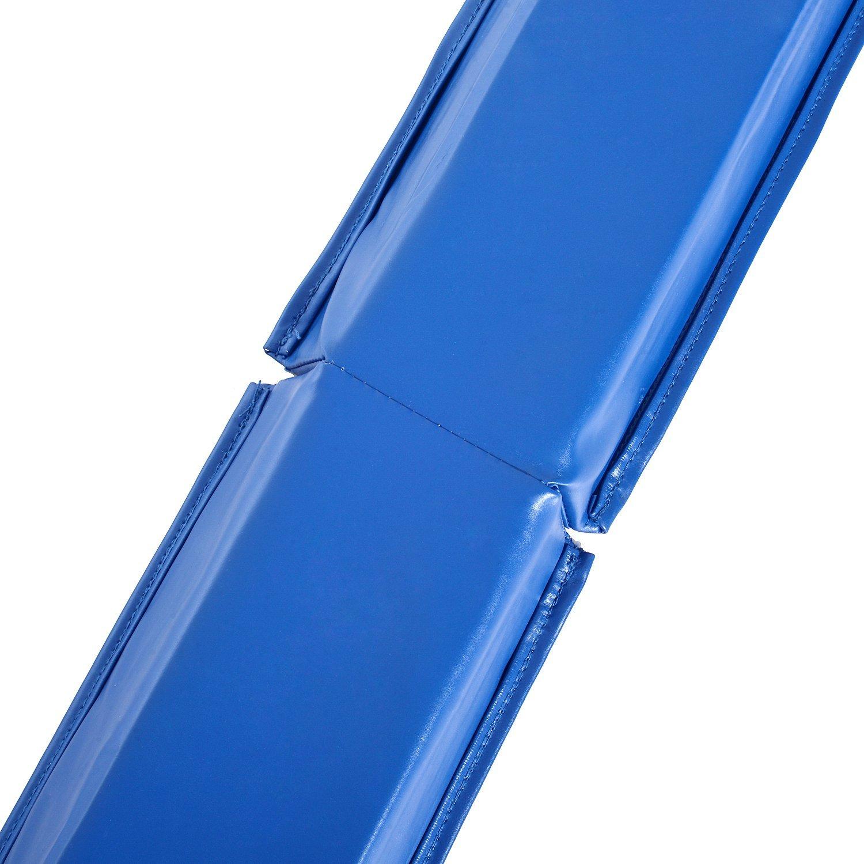 8FT-Folding-Floor-Balance-Beam-Foam-Gymnastic-Training-Low-Height-Beam-3-Color thumbnail 5