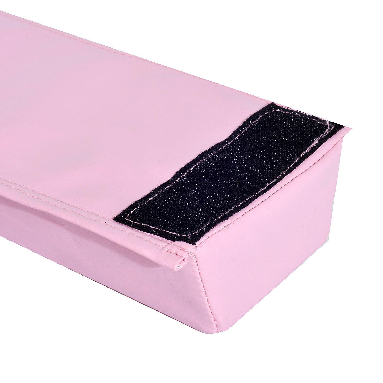 8FT-Folding-Floor-Balance-Beam-Foam-Gymnastic-Training-Low-Height-Beam-3-Color thumbnail 18