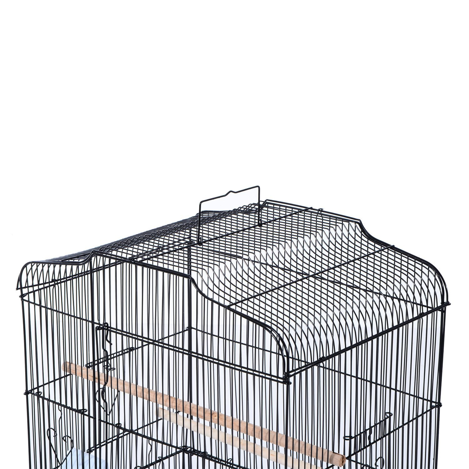 36-034-Bird-Cage-Parrot-Flight-Cage-2-Doors-4-Feeder thumbnail 6