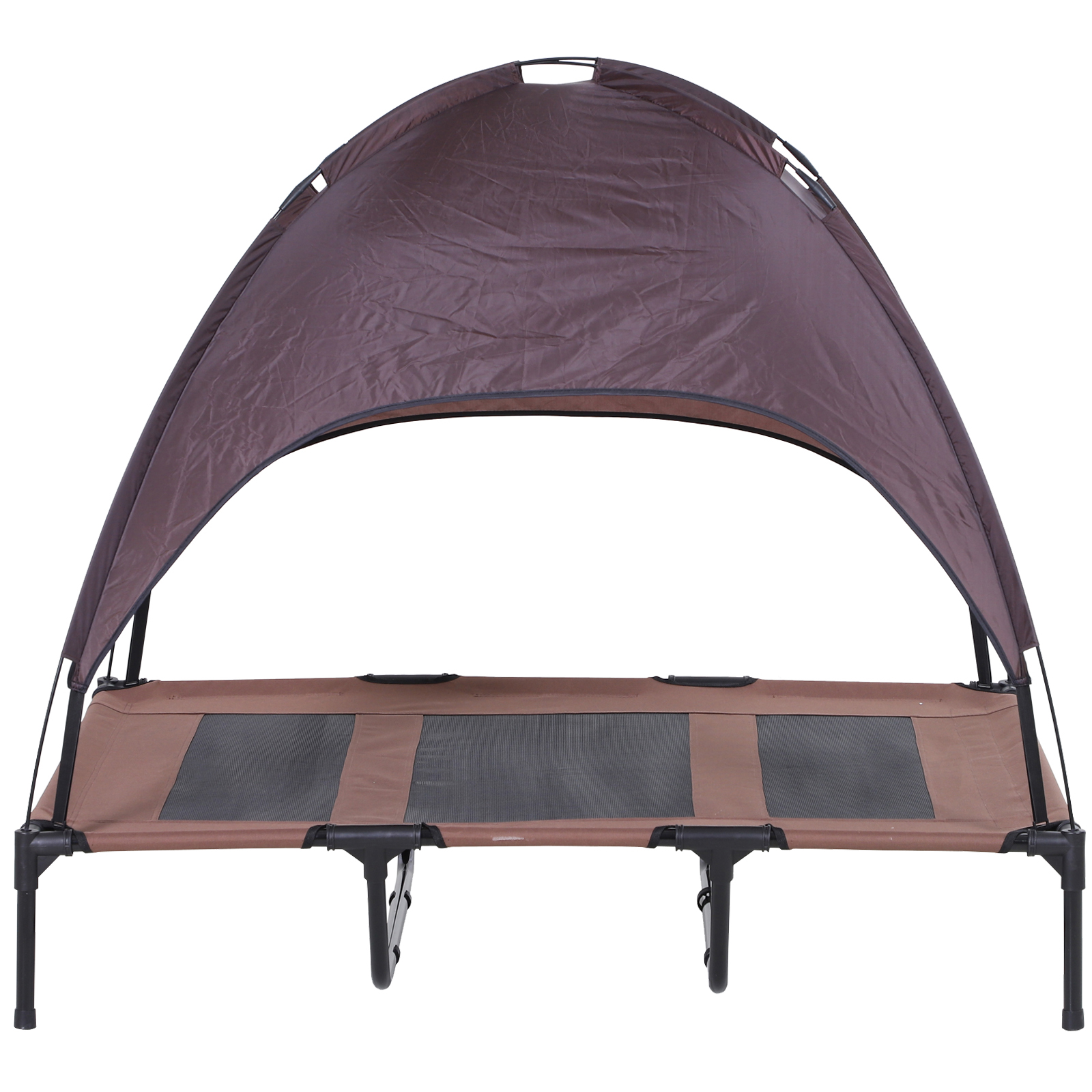 PawHut-Elevated-Pet-Bed-Dog-Foldable-Cot-Tent-Canopy thumbnail 12