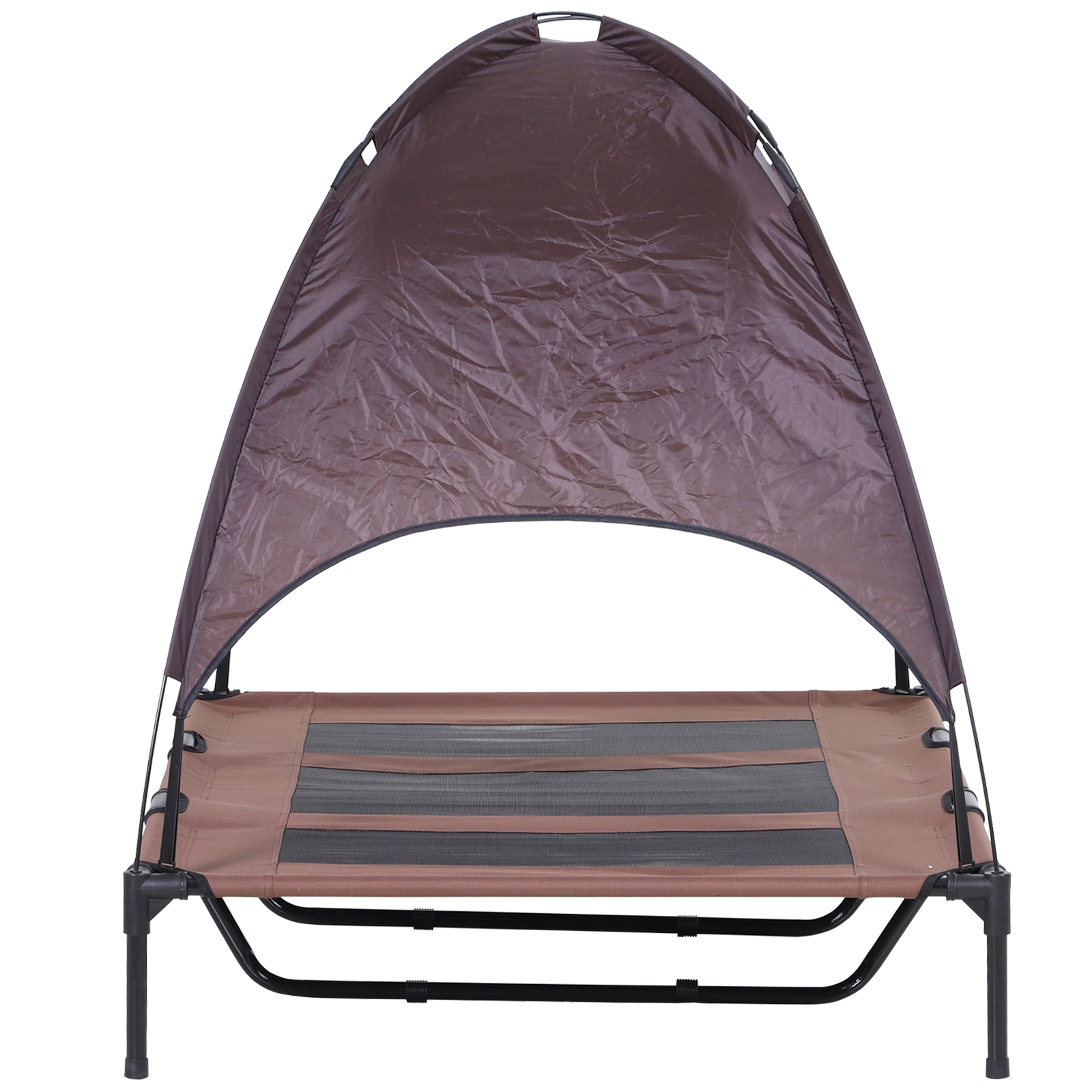 PawHut-Elevated-Pet-Bed-Dog-Foldable-Cot-Tent-Canopy thumbnail 11