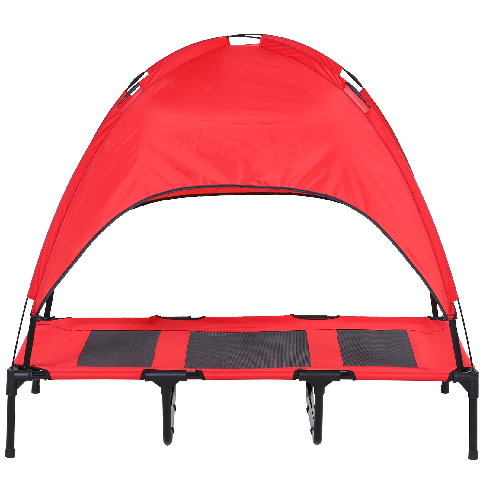 PawHut-Elevated-Pet-Bed-Dog-Foldable-Cot-Tent-Canopy thumbnail 18