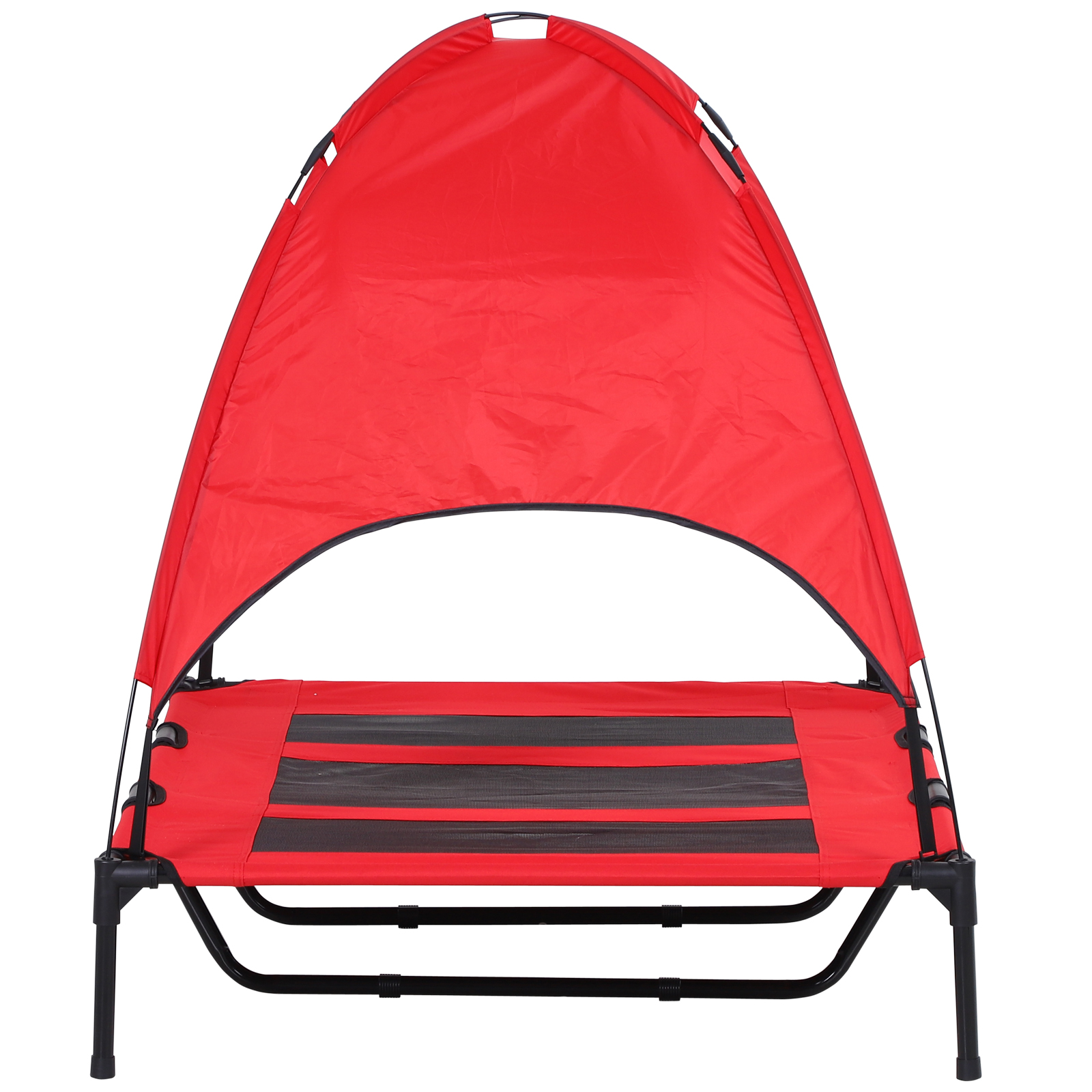 PawHut-Elevated-Pet-Bed-Dog-Foldable-Cot-Tent-Canopy thumbnail 21