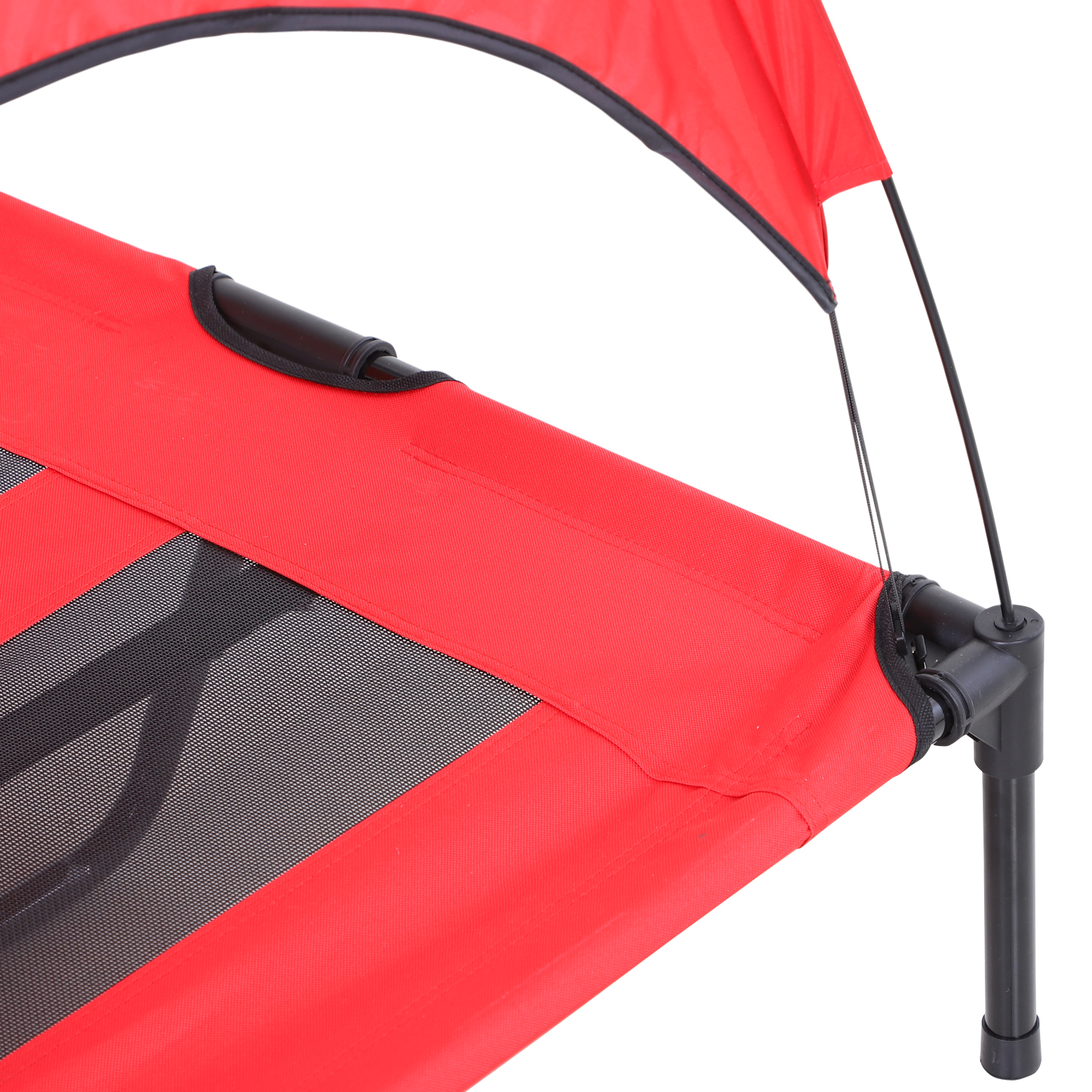 PawHut-Elevated-Pet-Bed-Dog-Foldable-Cot-Tent-Canopy thumbnail 22