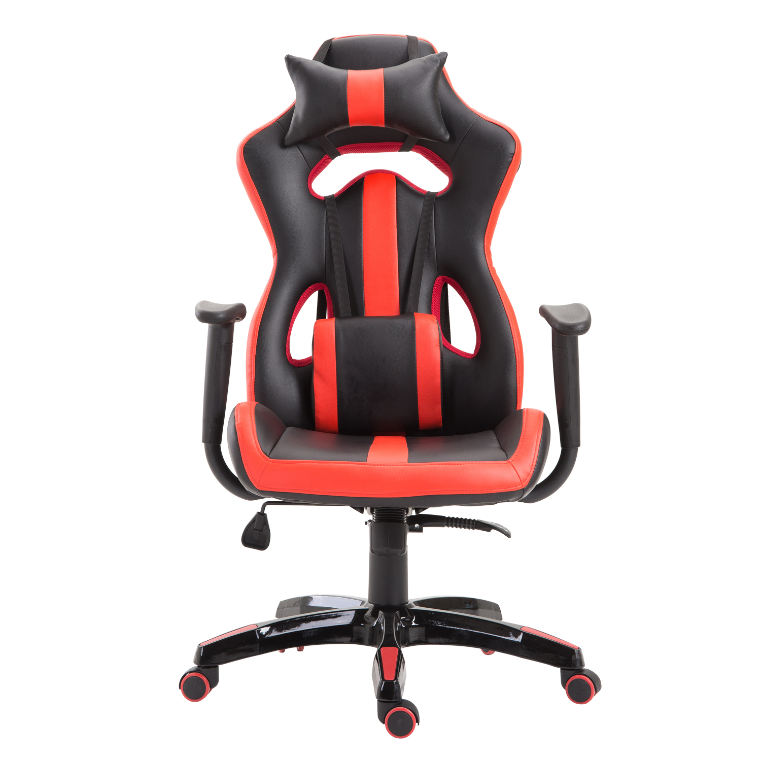 High-Back-Gaming-Chair-Ergonomic-Computer-Chair-PU-Leather-Swivel-Recliner