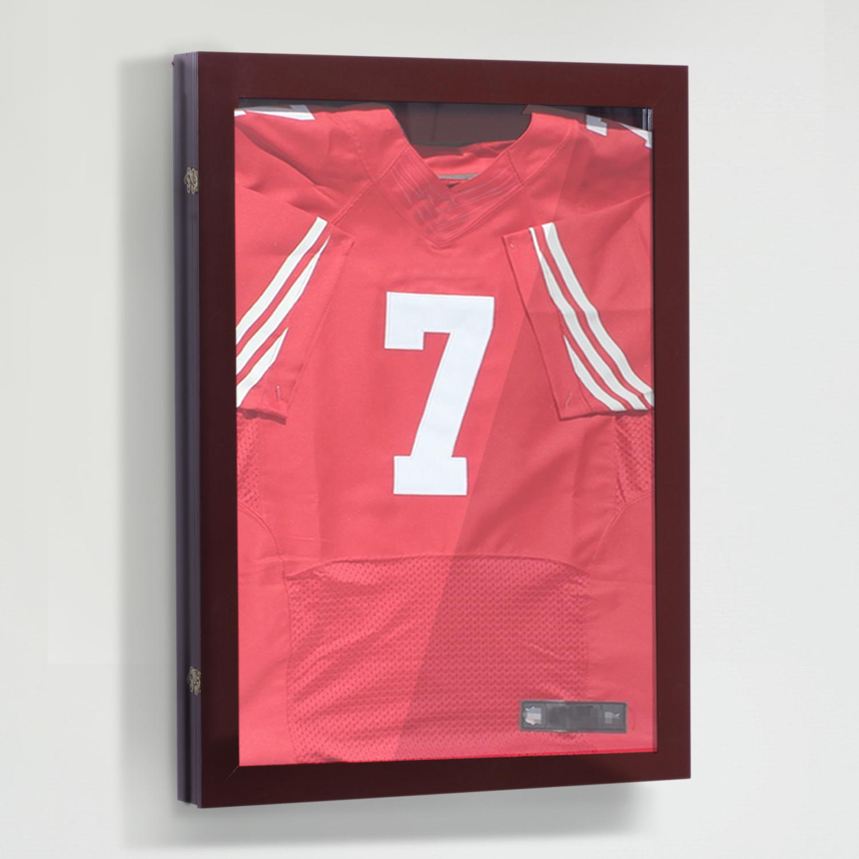 "31.5/"" Jersey Display Case Shirt Shadow Box Frame Football Baseball Basketball"