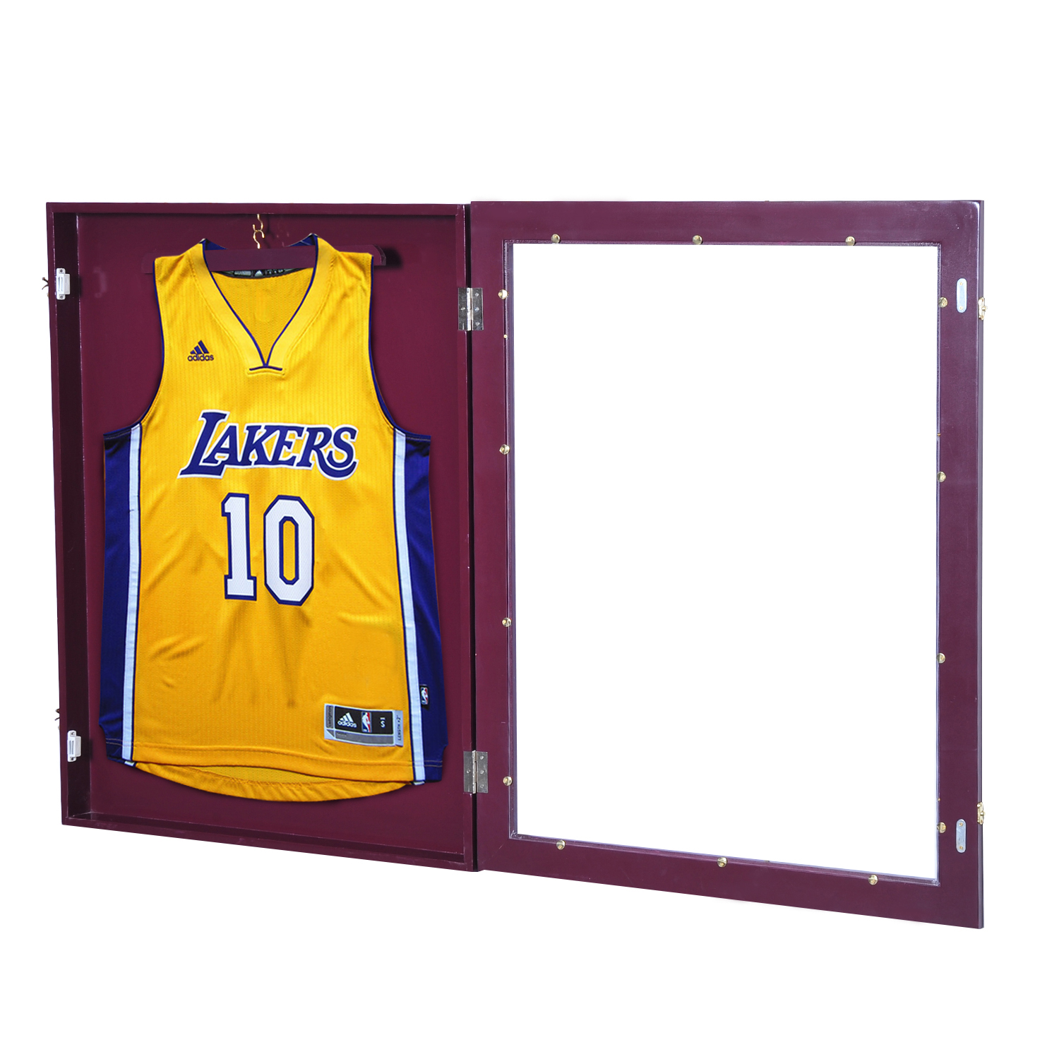 "90234dd7800 Details about 28""x35"" Jersey Display Case Shadow Box Football Basketball  Sport Jerseys"