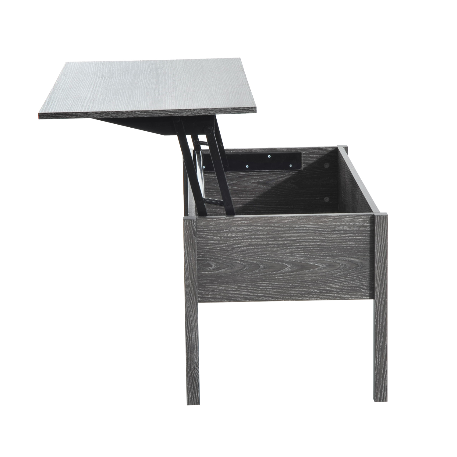 39-Modern-Lift-Top-Coffee-Table-Floating-Retractable-Lift-Top-Hidden-Storage thumbnail 13