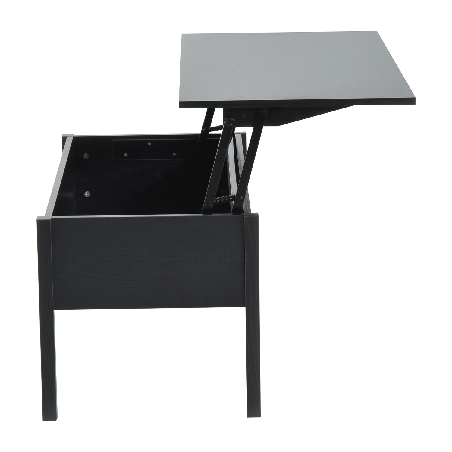 39-Modern-Lift-Top-Coffee-Table-Floating-Retractable-Lift-Top-Hidden-Storage thumbnail 6
