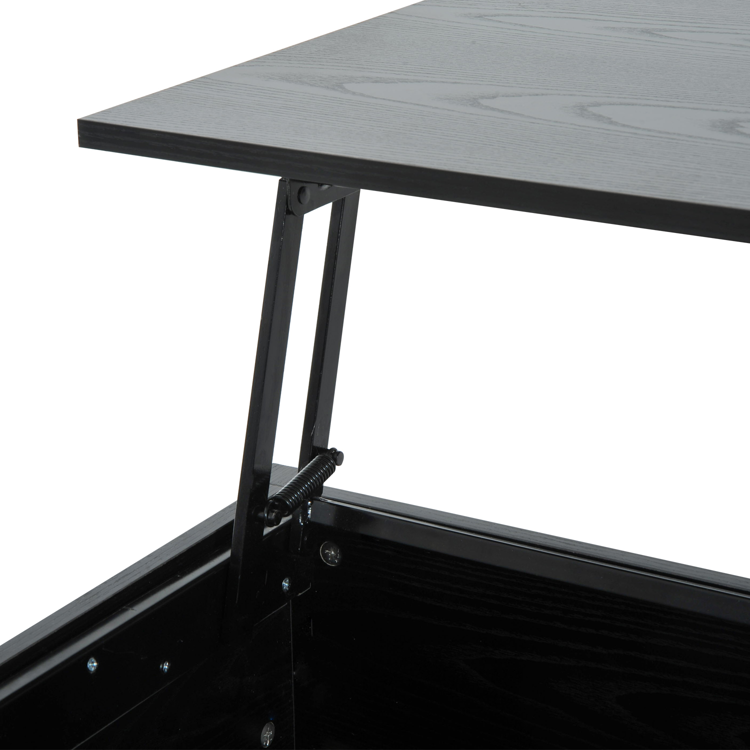 39-Modern-Lift-Top-Coffee-Table-Floating-Retractable-Lift-Top-Hidden-Storage thumbnail 8