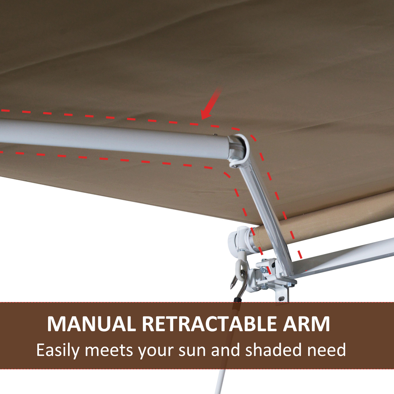 12x8-2ft-Manual-Retractable-Patio-Awning-Window-Door-Sunshade-Shelter