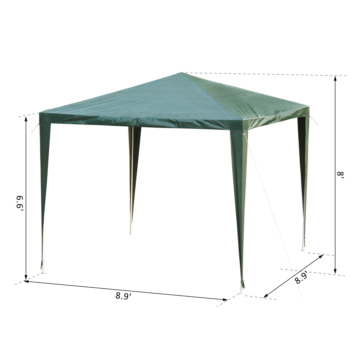 9x9ft-Party-Gazebo-Tent-Event-Shelter-Sunshade-Portable-w-Carry-Bag