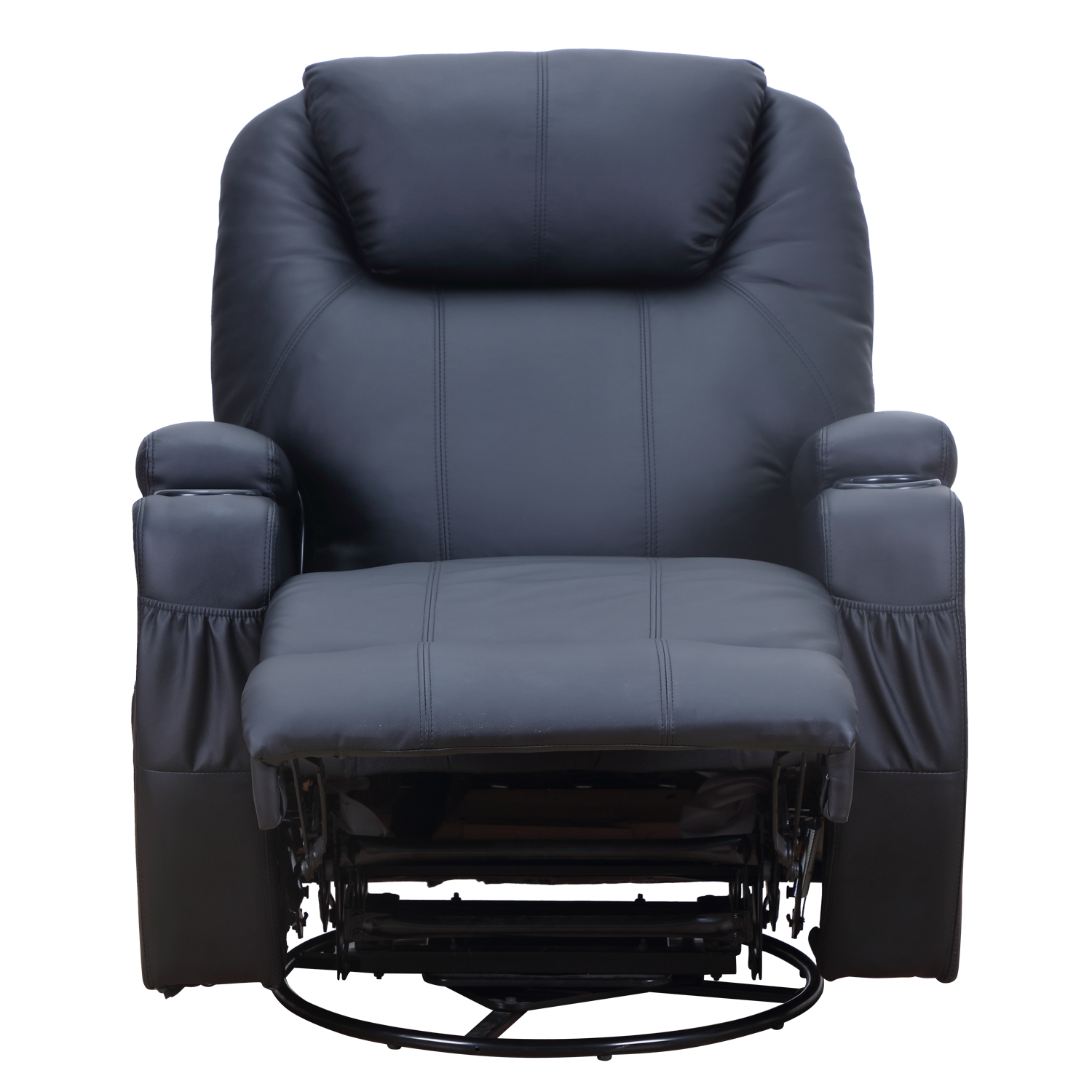 Therapeutic Heated Massage Reclining Sofa Chair Relaxing