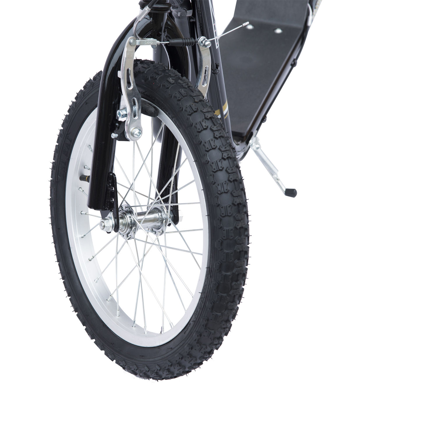 Adjustable-Teen-Kick-Scooter-Kids-Ride-On-Stunt-Street-Bike-16-034-Tire thumbnail 6