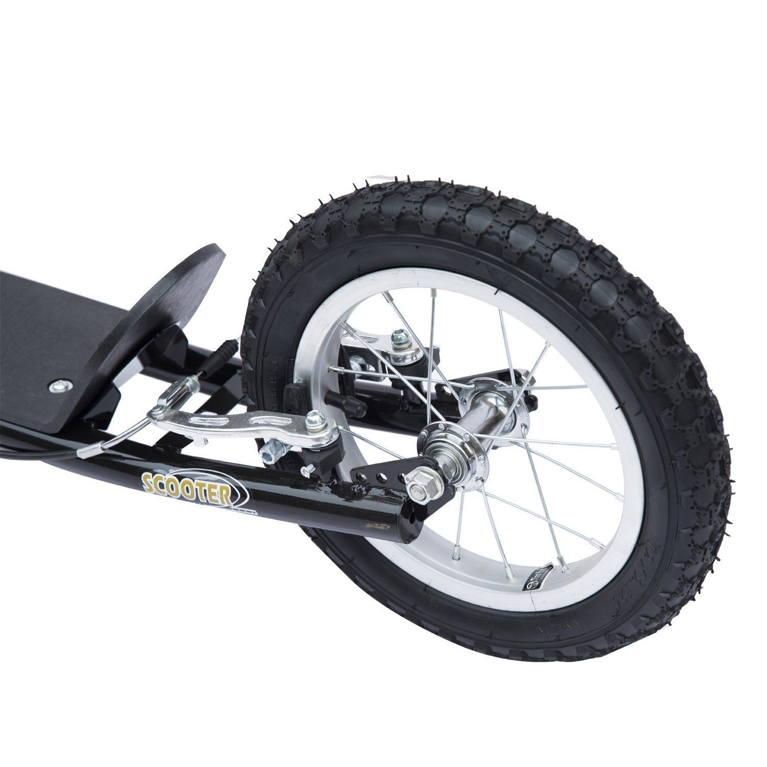 Adjustable-Teen-Kick-Scooter-Kids-Ride-On-Stunt-Street-Bike-16-034-Tire thumbnail 7