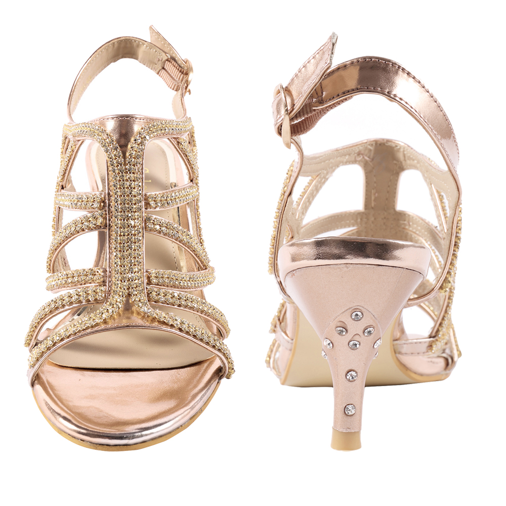 SheSole Womens Low Heel Dress Sandals Wedding Bridal Prom Shoes | eBay