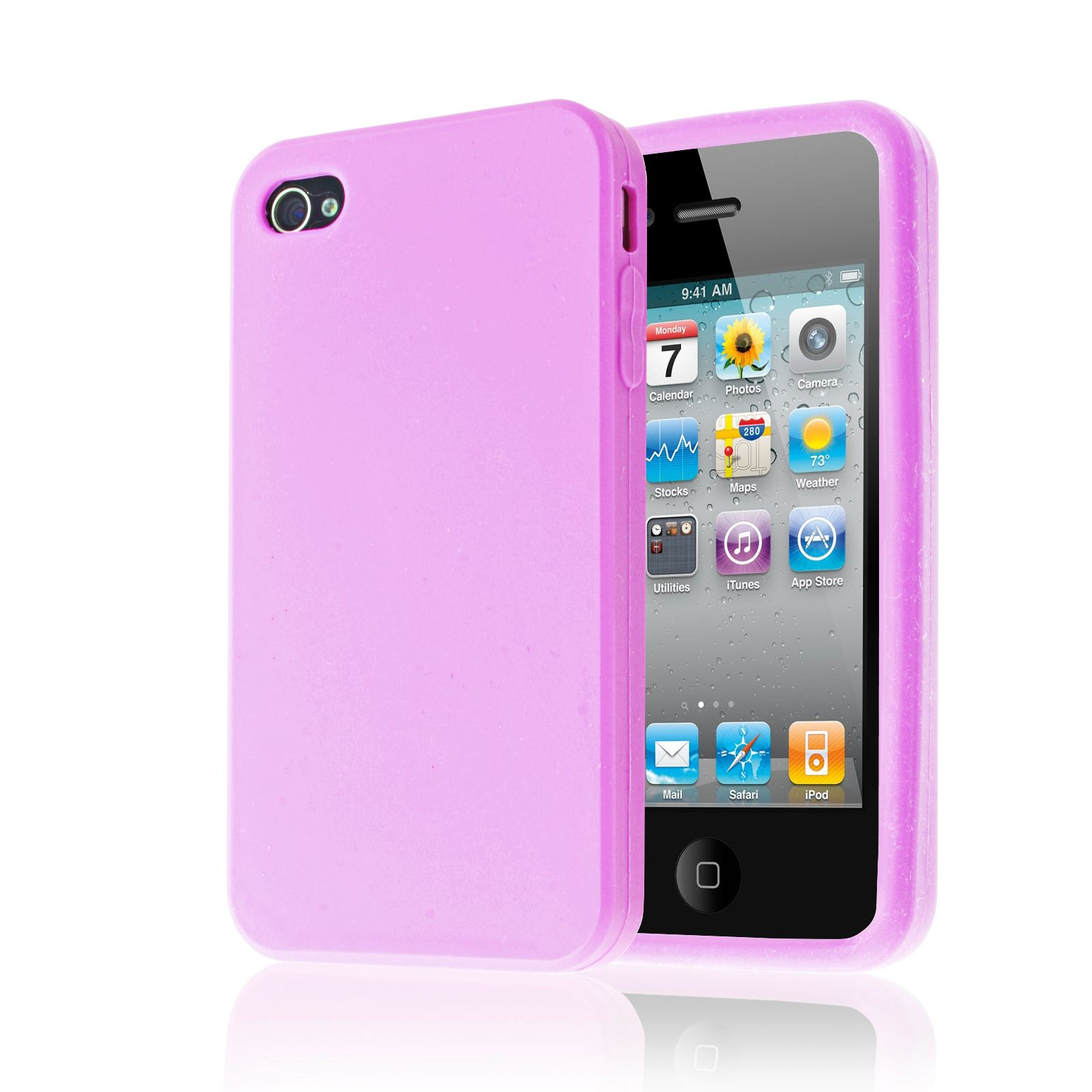 custodia iphone 4 silicone