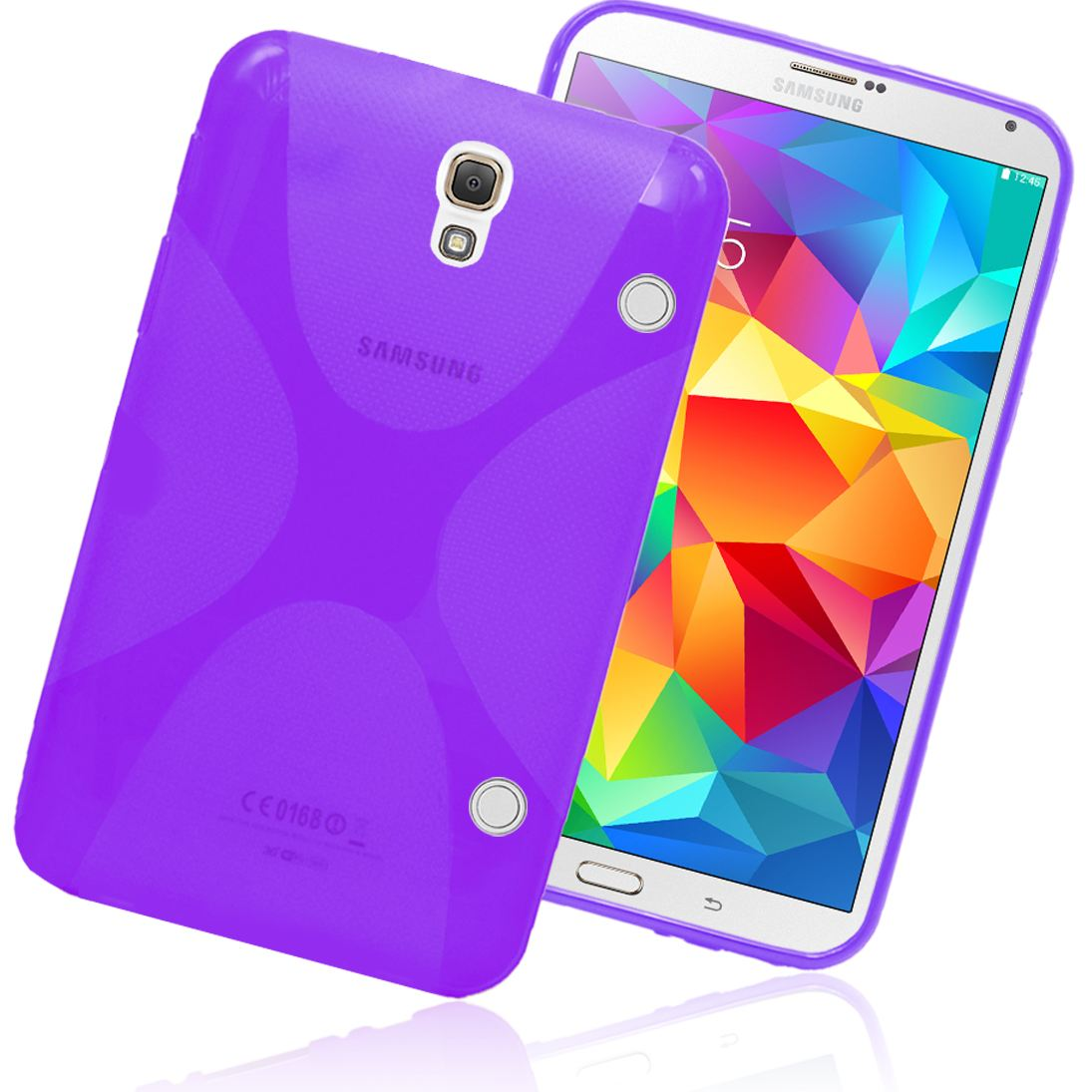 custodia in silicone per tablet samsung t705