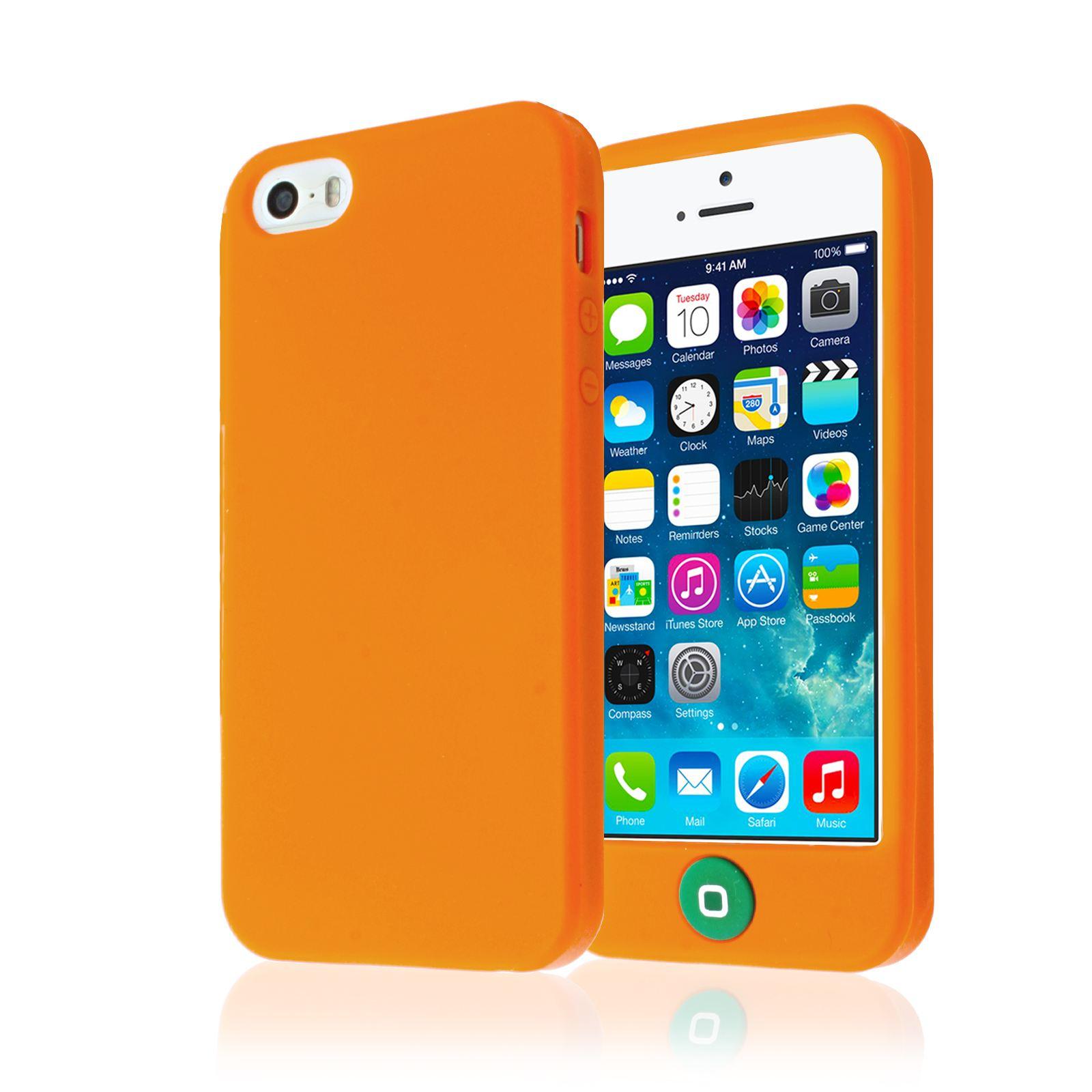 custodia iphone 5 silicone morbido