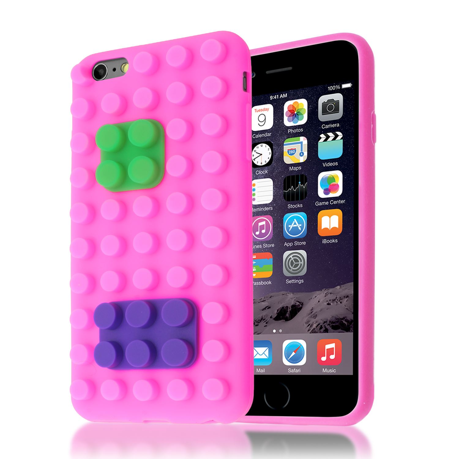 9 x custodia iphone 6 cover silicone