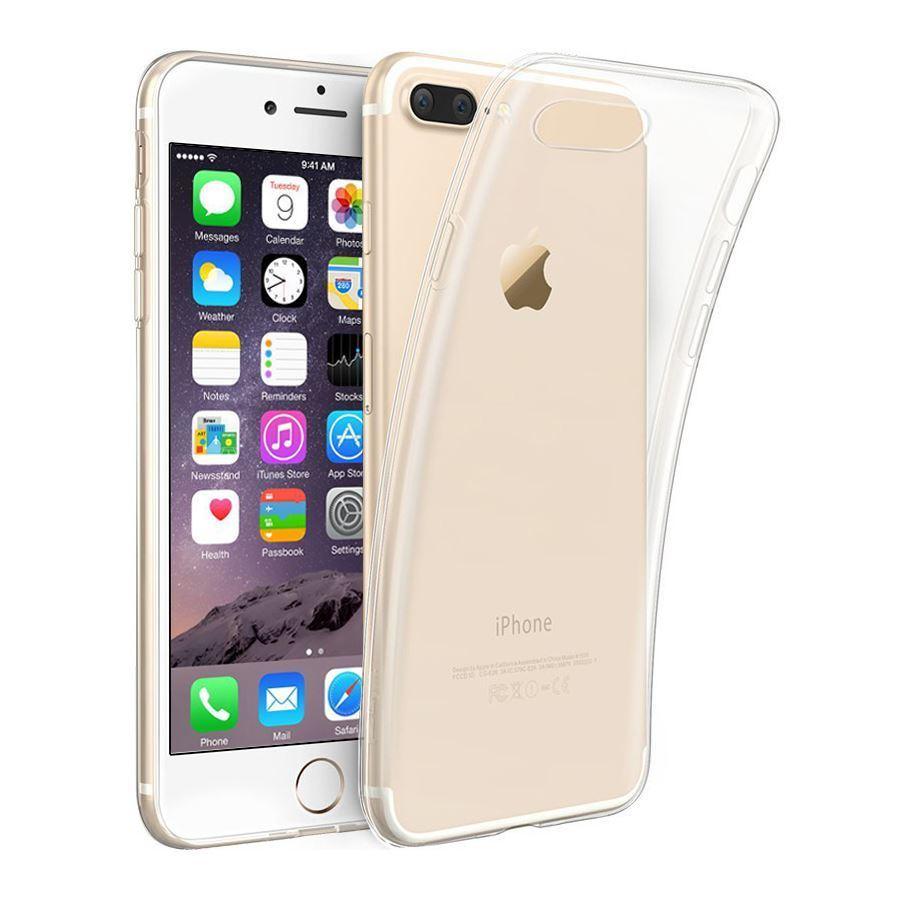 Ultra-fina-cubierta-transparente-0-3-mm-Gel-Para-Iphone-X-8-8-7-7-6S-6S