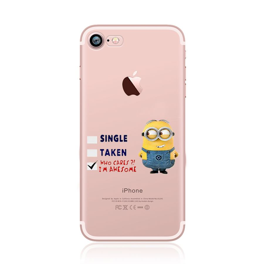 coque minion iphone 8
