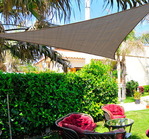 Sun Shade Sail Triangle /Rectangle/ Square Outdoor Patio Canopy UV Top  Shelter; Picture 2 Of 4 ...