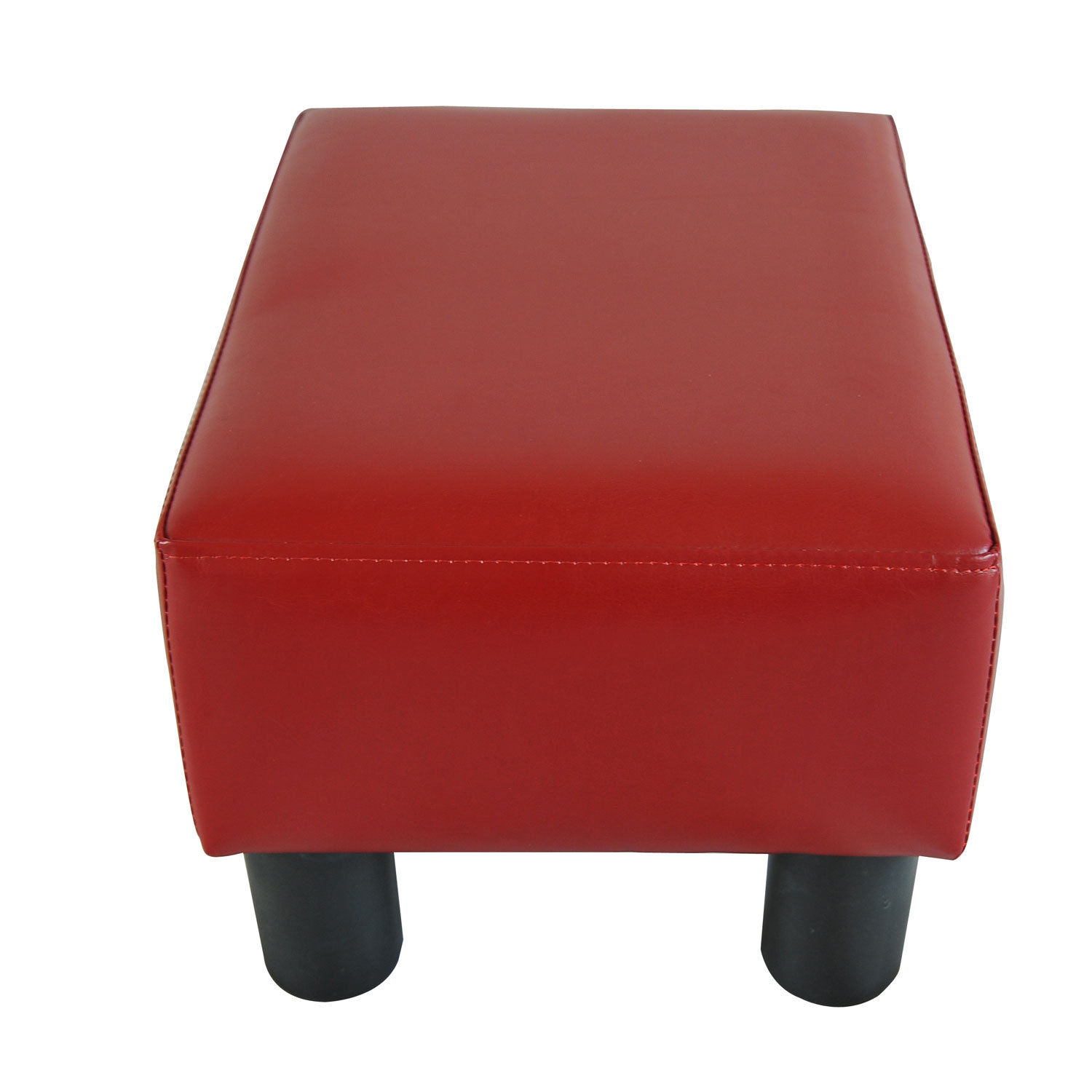 Modern Faux Leather Ottoman Footrest Stool Foot Rest Small