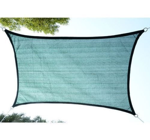Sun-Shade-Sail-UV-Top-Cover-Outdoor-Canopy-Patio-Triangle-Square-Rectangle-w-Bag thumbnail 27